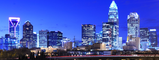 Skyline of Charlotte, Home of Gibson Smith Realty Company